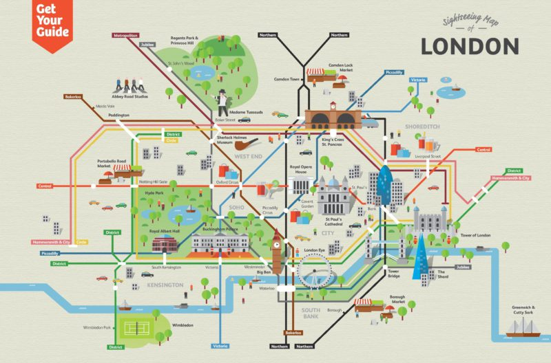 Map of London to download