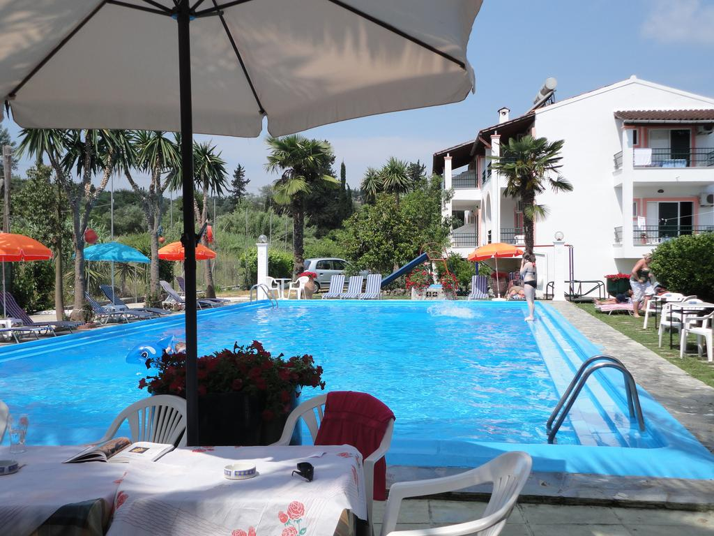 Hotel Angela Beach Korfu zahrada