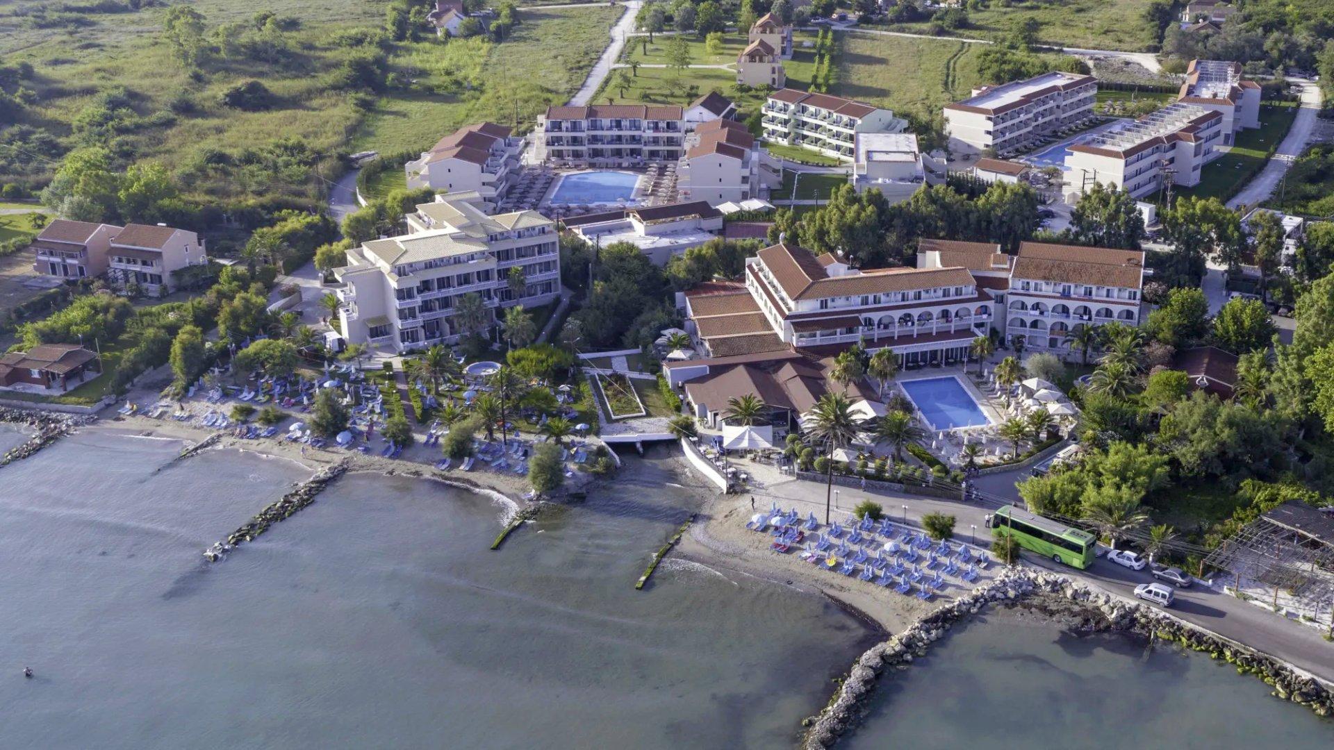 Hotel Angela Beach Korfu - oblíbený hotel kousek od Kerkyry