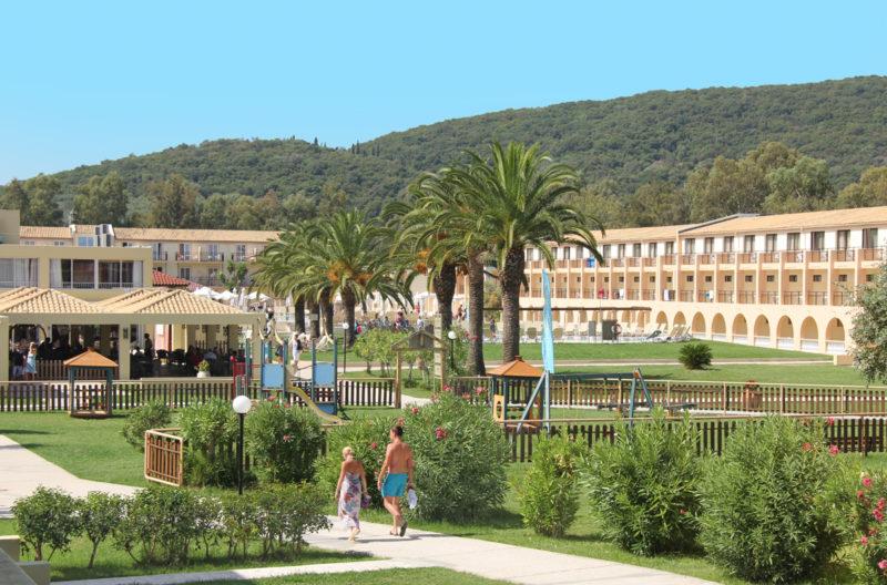 Hotel Messonghi Beach na Korfu hlavní budova
