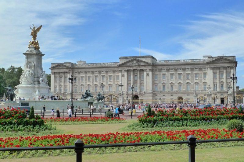 Co navštívit v Londýně - Buckingham Palace