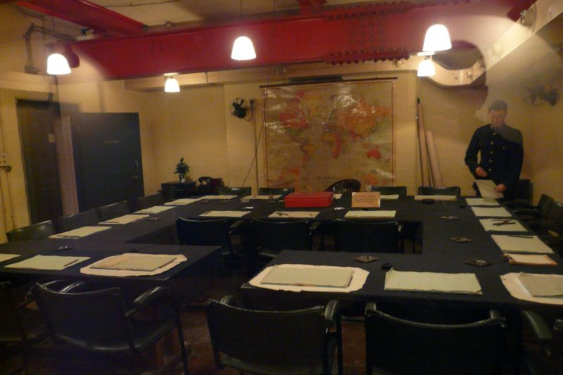 Co navštívit v Londýně - Churchill War Rooms
