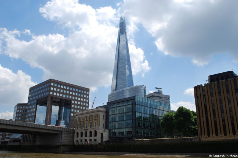 Co navštívit v Londýně - The Shard