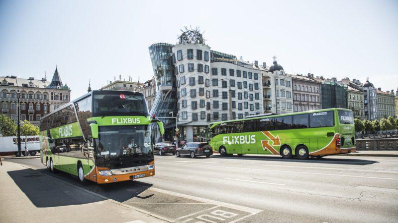 Flixbus Praha – trasy, jízdenky, jízdní řády