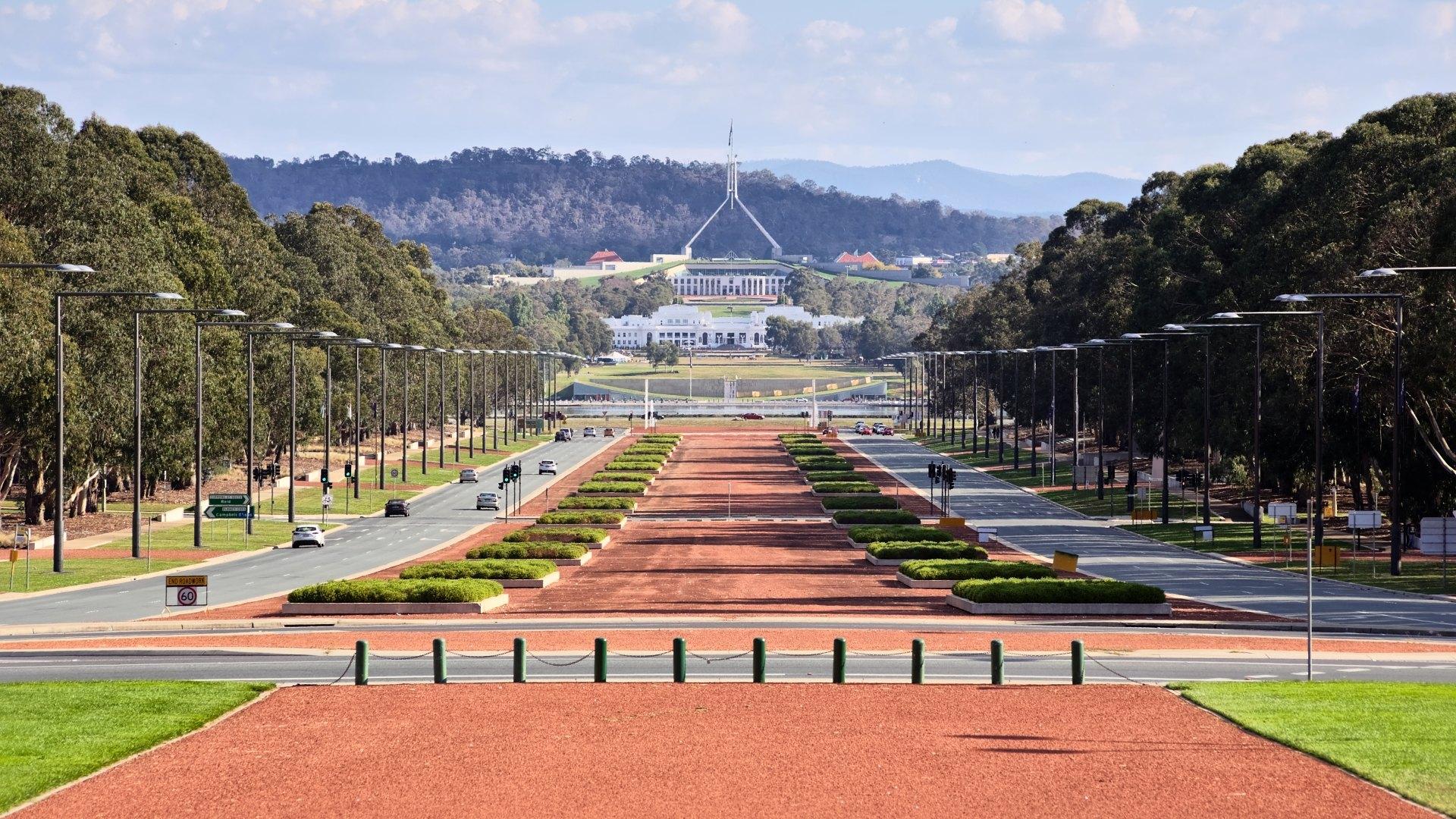 Camberra - hlavní město Austrálie