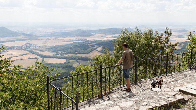 Výhled z Milešovky