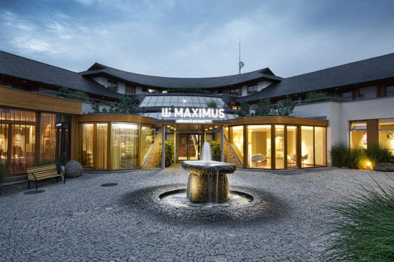 Maximus Resort Brno – Wellness a špičkové služby