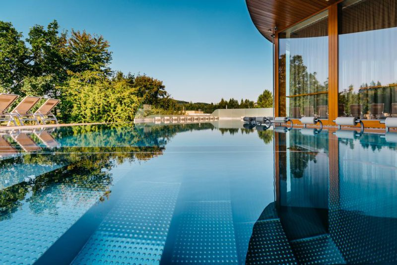 Hlavní relaxační bazén v Spa Infinit Maximus