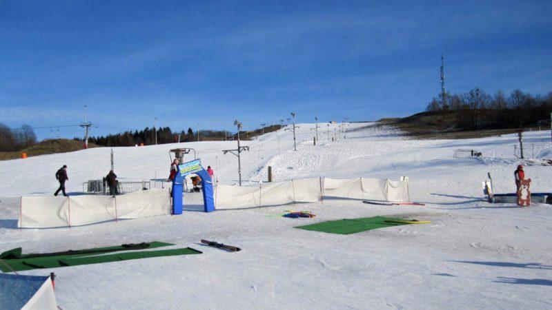Nástup na vlek - ve Ski Hlubočky!
