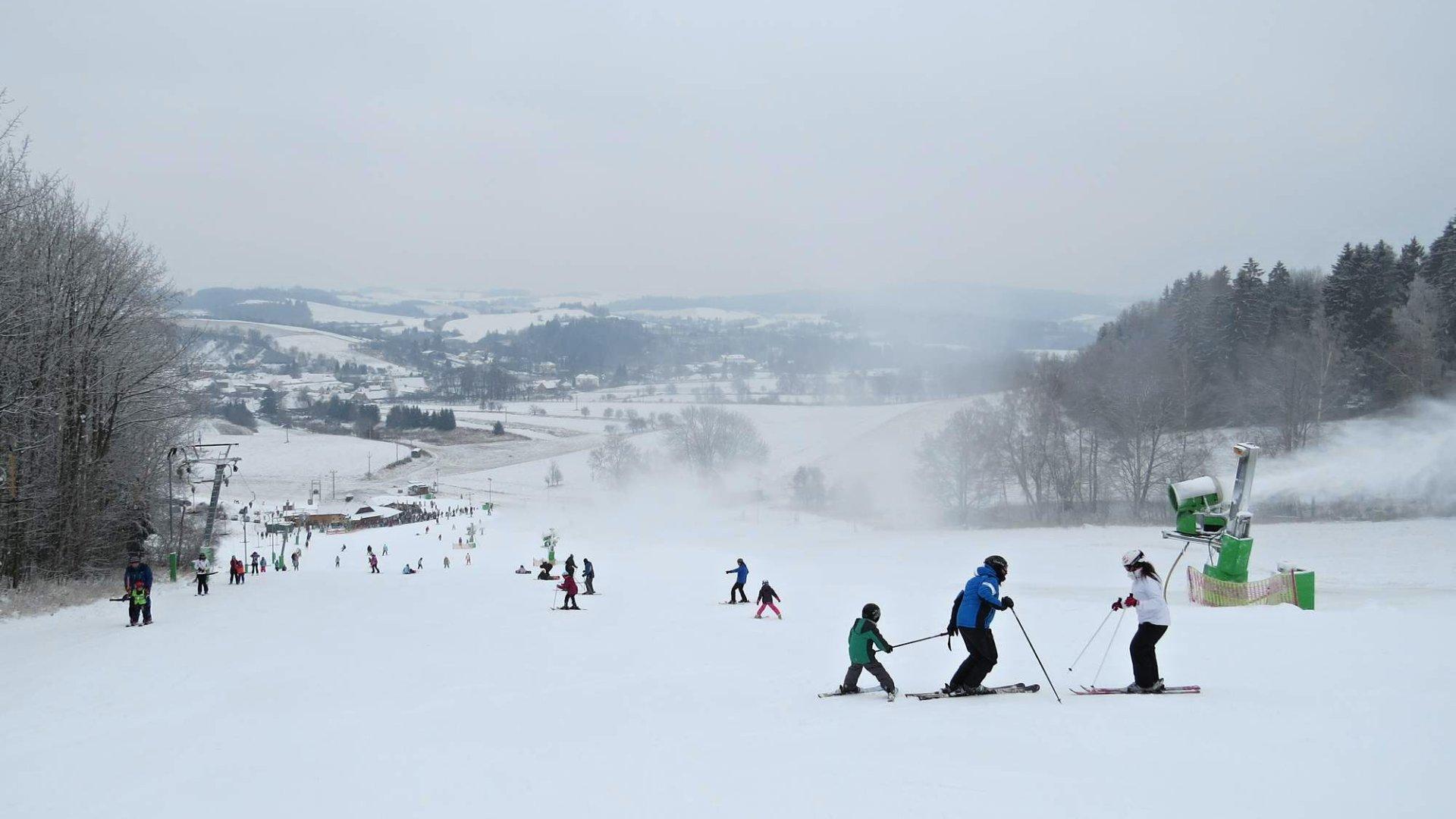 Ski Olešnice na Moravě – Ceny, mapy, kamera