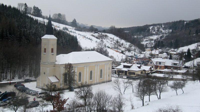 Ski Stupava v centru vrchoviny Chřiby