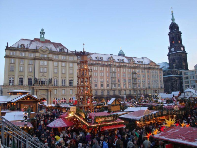 Drážďanské trhy jsou neuvěřitelně krásné.