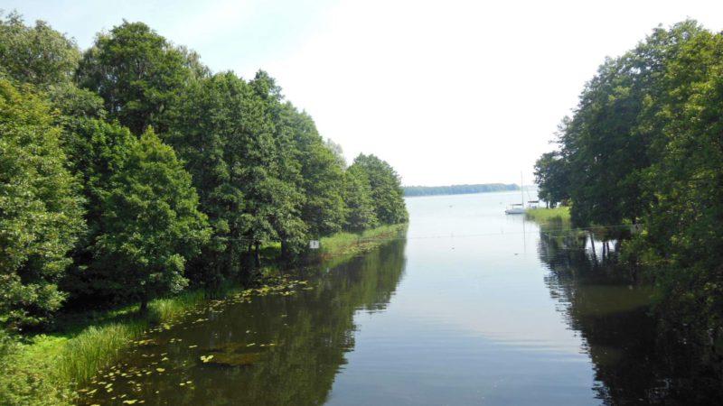 Jezera jsou rájem rybářů