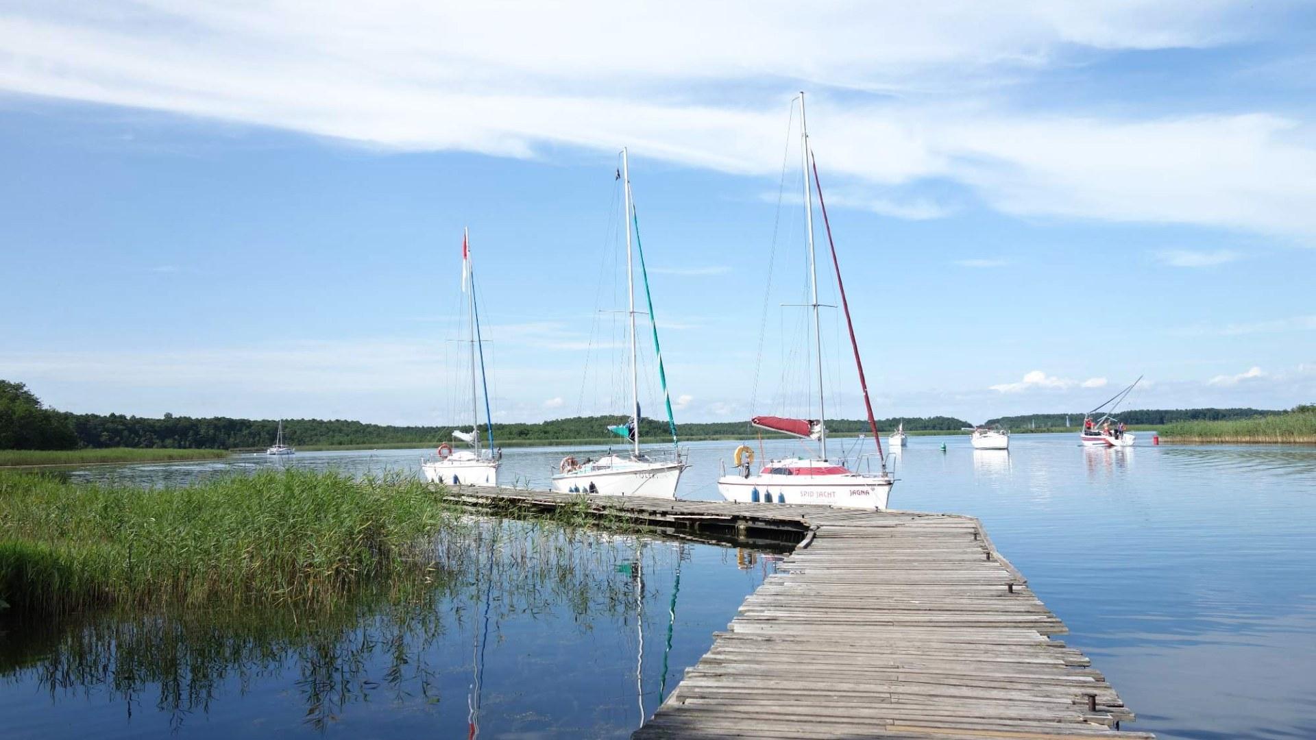 Mazurská jezera Polsko