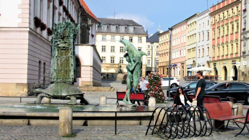 Letní pohoda města Olomouc.