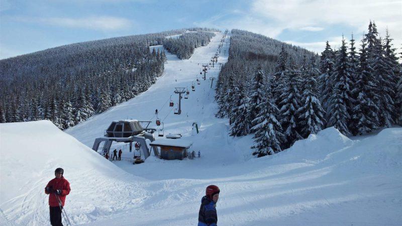 Ski Ramzová (Bonera) panorama