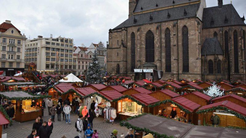 Vánoční trhy Plzeň na náměstí Republiky
