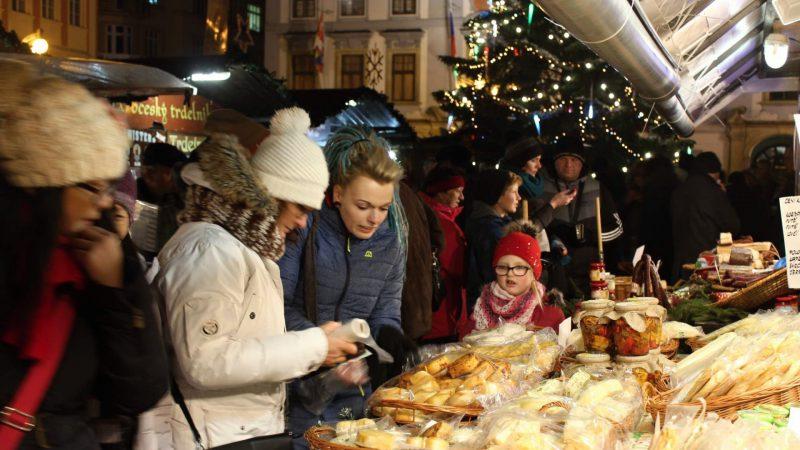 Vánoční trhy Budějovice a dobroty