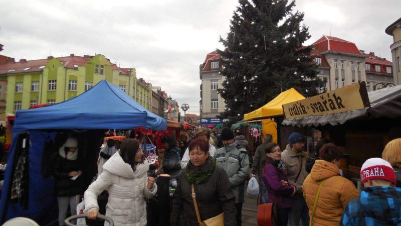 Vánoční trhy Hradec Králové na Masarykově náměstí