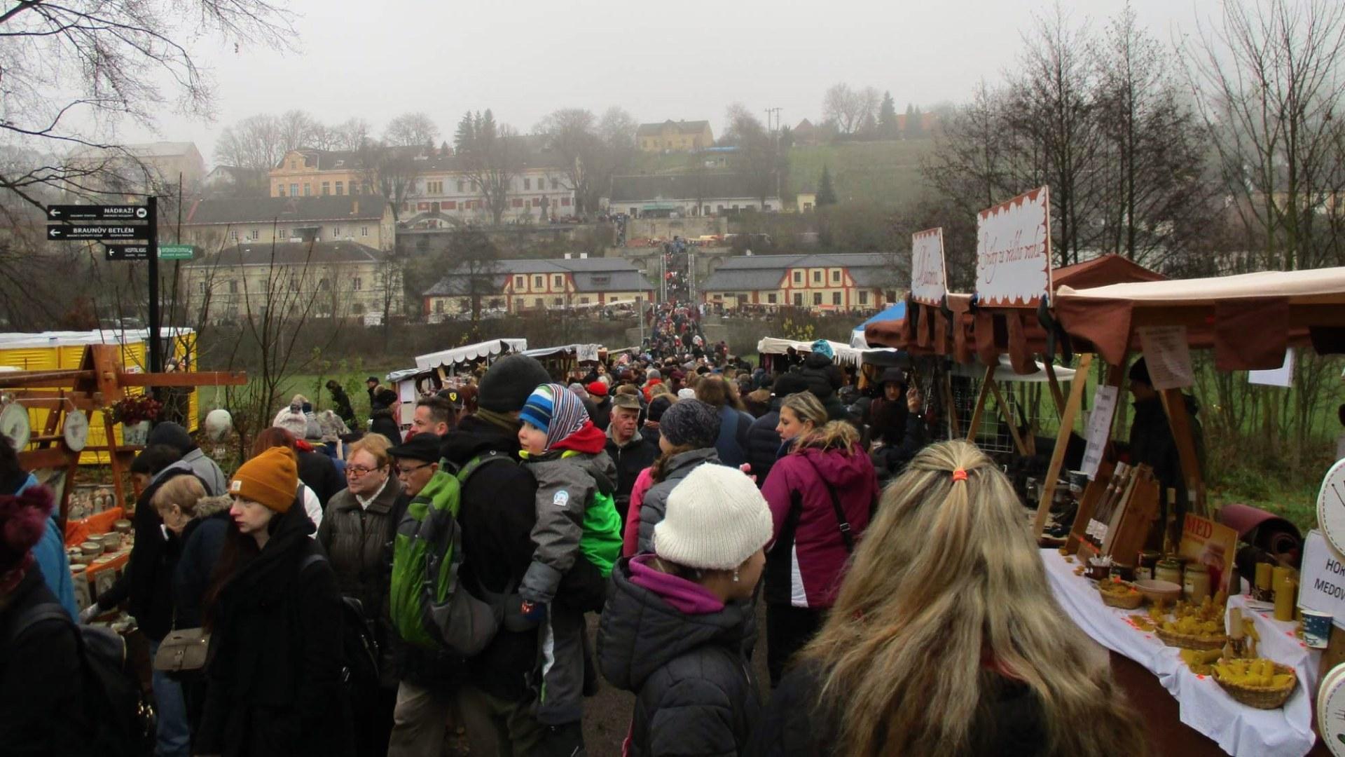 Vánoční trh Kuks 2018 – Vánoční atmosféra na zámku