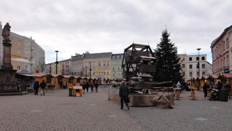Vánoční trhy Opava jsou velmi oblíbené