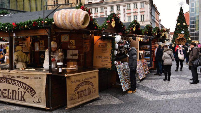 Vánoční trhy – Václavské náměstí.