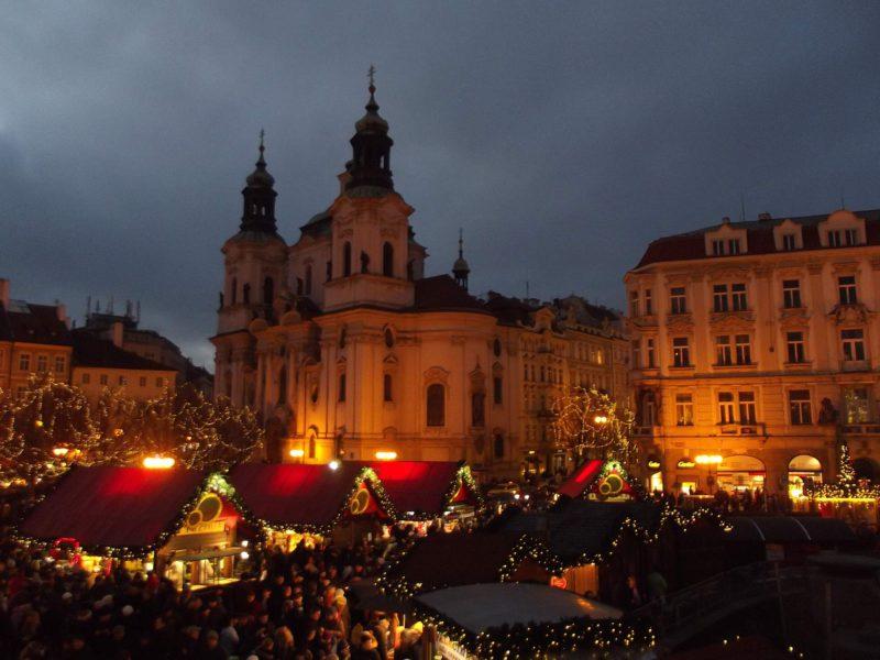 Vánoční trhy v Praze mají opravdu neopakovatelnou atmosféru.