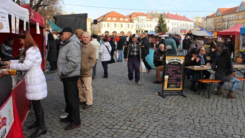 Vánoční trhy Uherské Hradiště nabídnou spoustu stánků