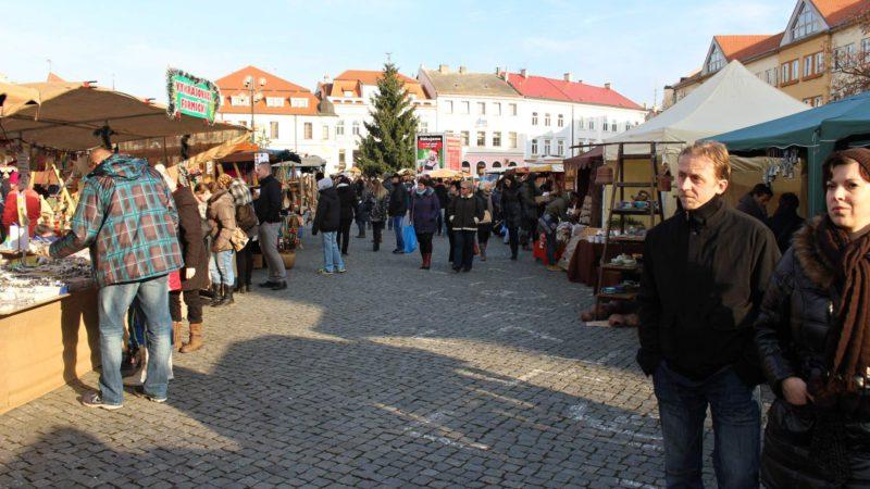 Masarykovo náměstí v Hradišti je opravdu úžasné