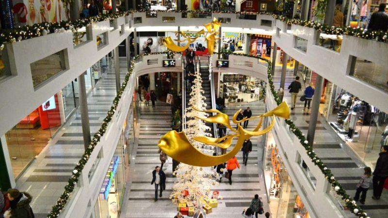 Vánoční trhy v OC Jablko