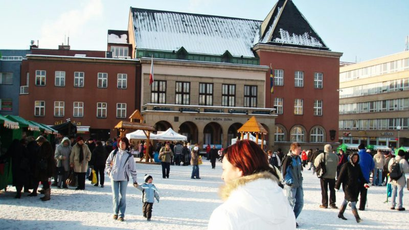 Vánoční trhy se konají na náměstí Míru