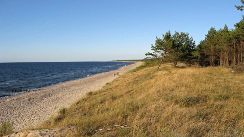 Beautiful Baltic coast