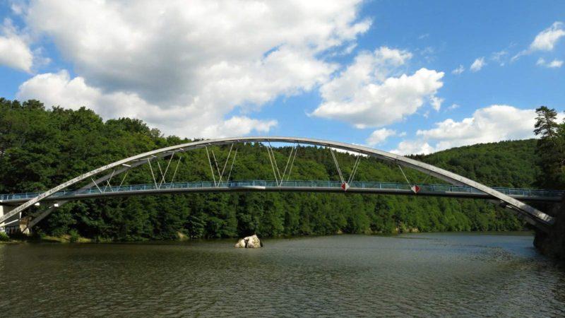 Most přes Brněnskou přehradu