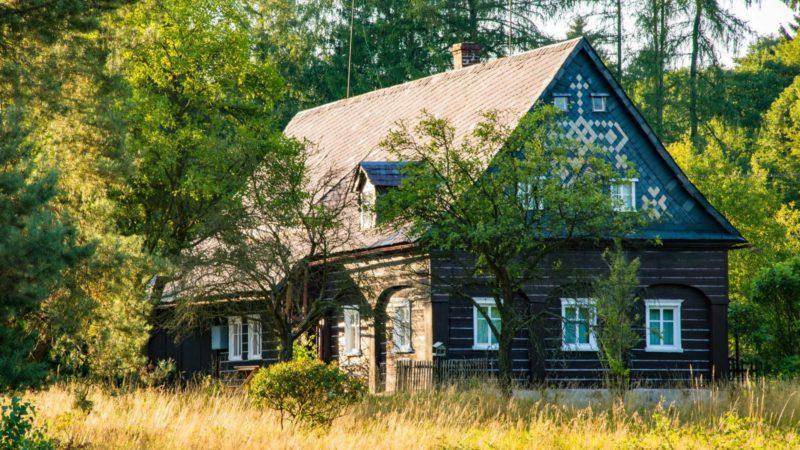 Malebná chata uprostřed Českého Švýcarska