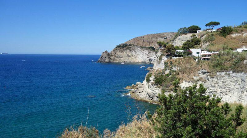 Ischia je ostrov sopečného původu
