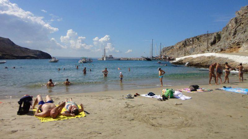 Pláže jsou velkým lákadlem ostrova - většinou jsou písčité