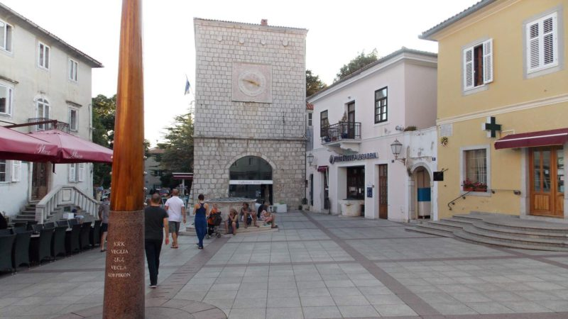 Hlavní město ostrova Krk