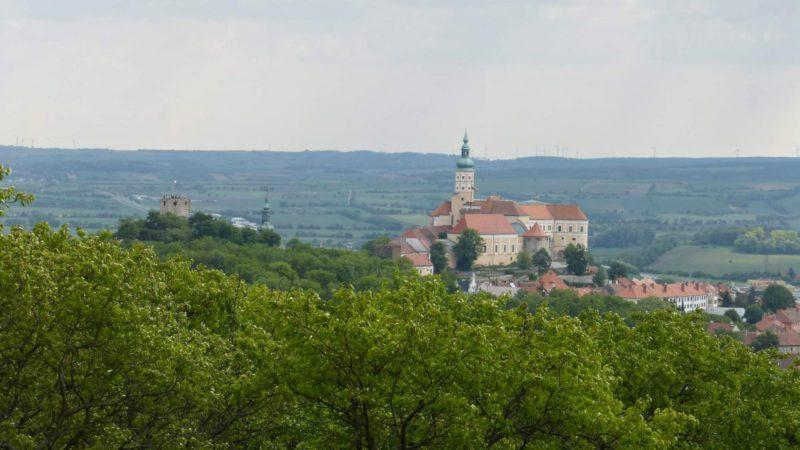 Pohled na město Mikulov - srdce Pálavy