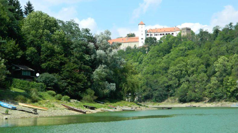 Vranovská přehrada – ubytování, mapy a webkamera