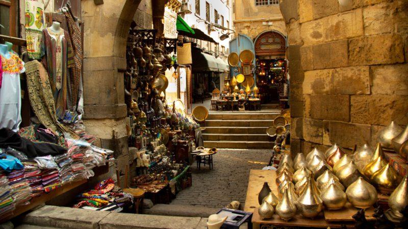 Tradiční tržiště má i Hurgháda