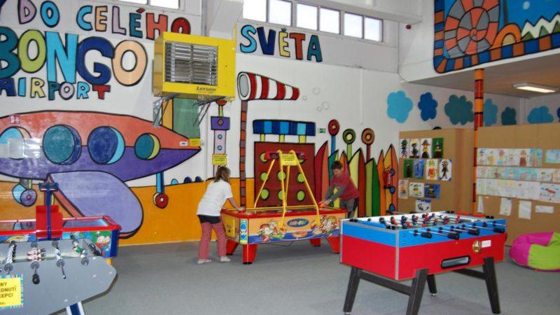 Děti zde mají opravdu mnoho možností zábavy!