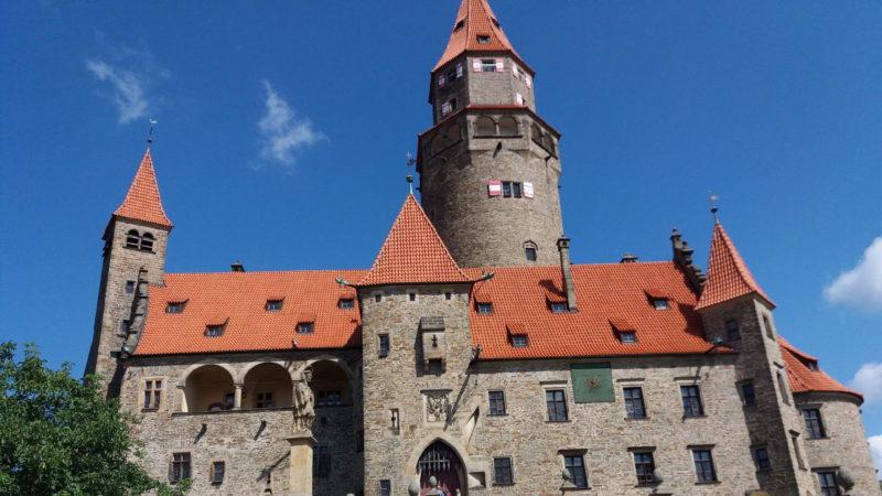 Bouzov je opravdu majestátný a romantický hrad