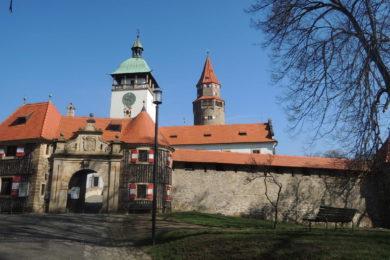 Hrad Bouzov v plné kráse