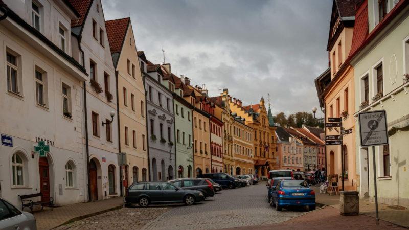 Náměstí městečka Loket
