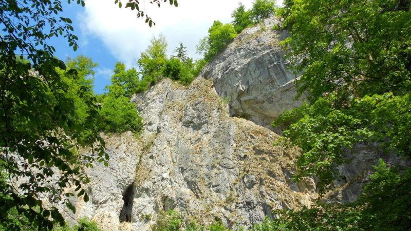 Moravský kras je plný jeskyní a zajímavých skalních útvarů