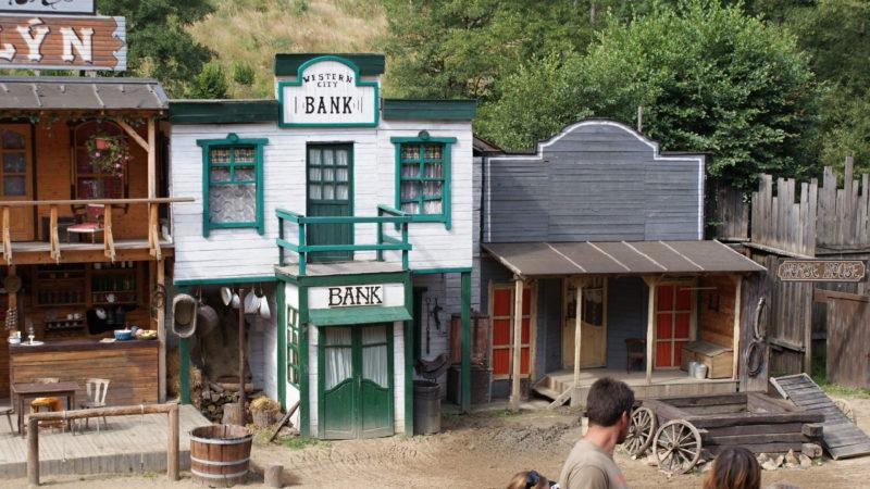 Šiklův mlýn westernové městečko