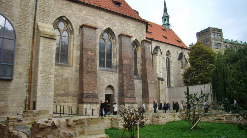 Anežský klášter a kostel sv. Františka