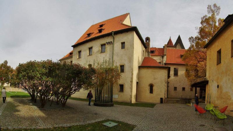 Anežský klášter je dnes otevřený lidem