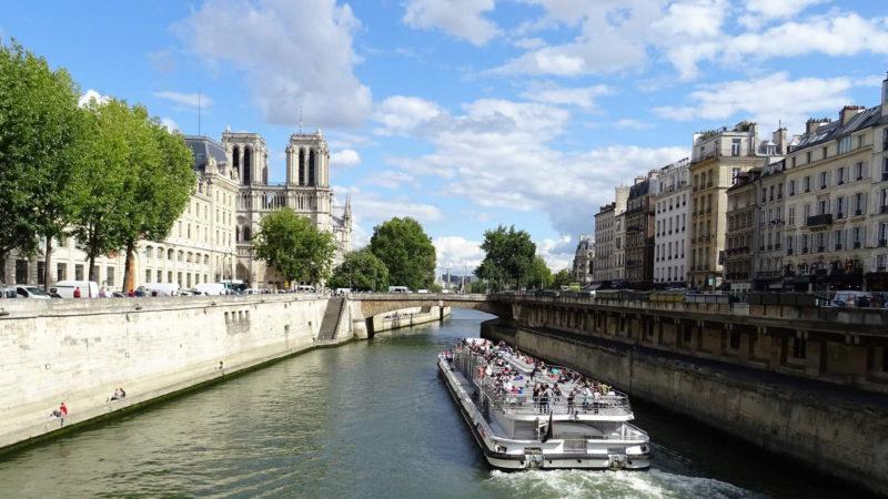 Ostrov Île  de la Cité je srdcem Paříže