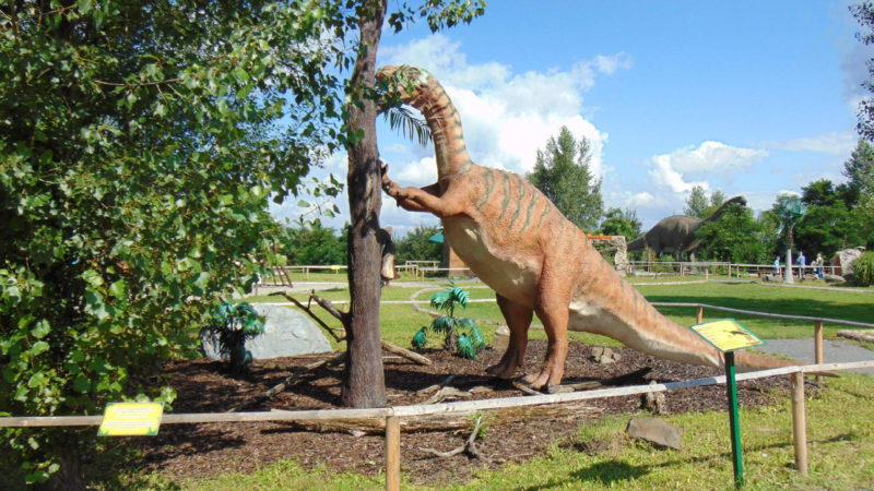 Dinopark Ostrava je plný dinosaurů